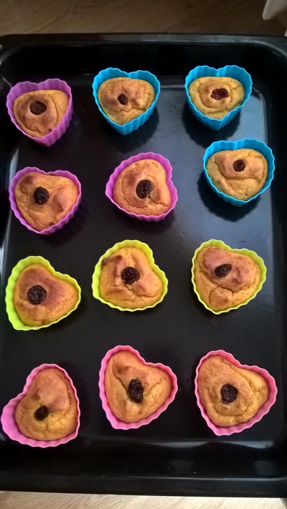 Dýňové muffinky