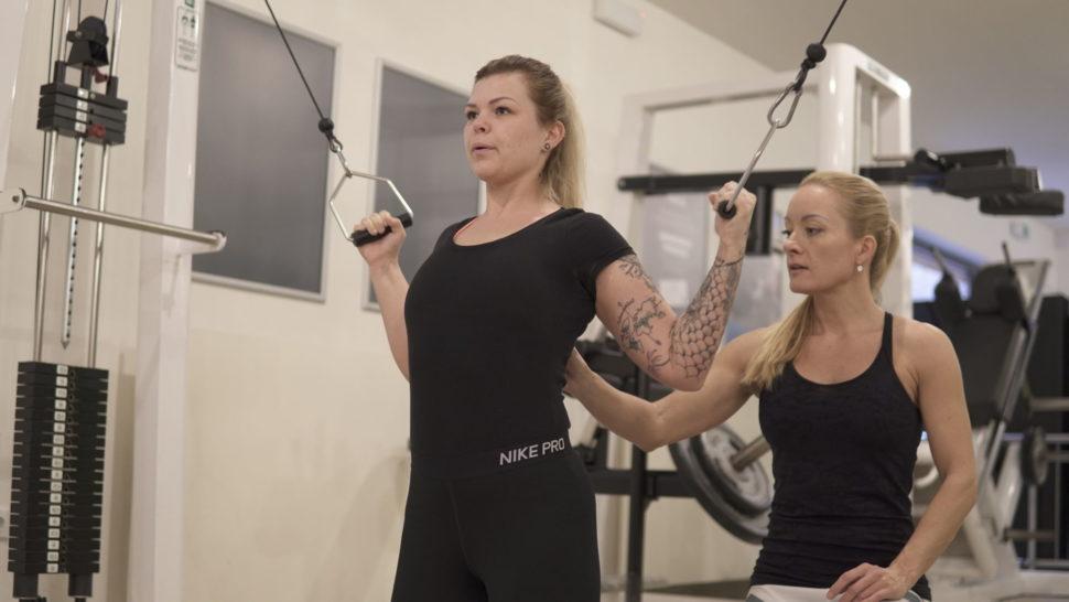 Posilování zádových svalů